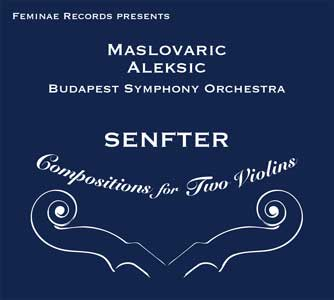Senfter: Compositions for Two Violins